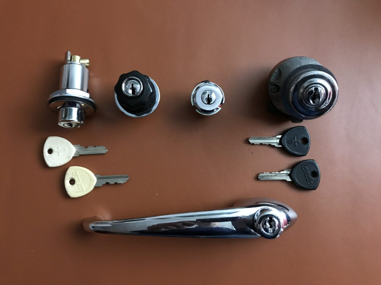 Flaminia Touring Lock Set Image